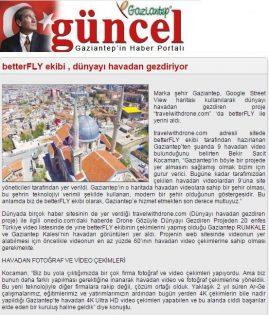 Dünyayı havadan gezdiriyor - Turkey