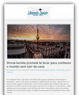 Drone-turista promete te levar para conhecer o mundo sem sair de casa -Brasil