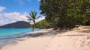 Amazing drone footage over the British Virgin Islands