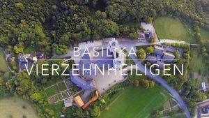 Basilika Vierzehnheiligen-Franconian Drone