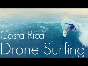 Drone video of surfing in Costa Rica – Featured Level Media