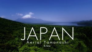 JAPAN Aerial Shoot Yamanashi Mt. Fuji-Hi Time