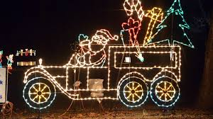 Jolly Holiday Lights Des Moines Iowa 2015