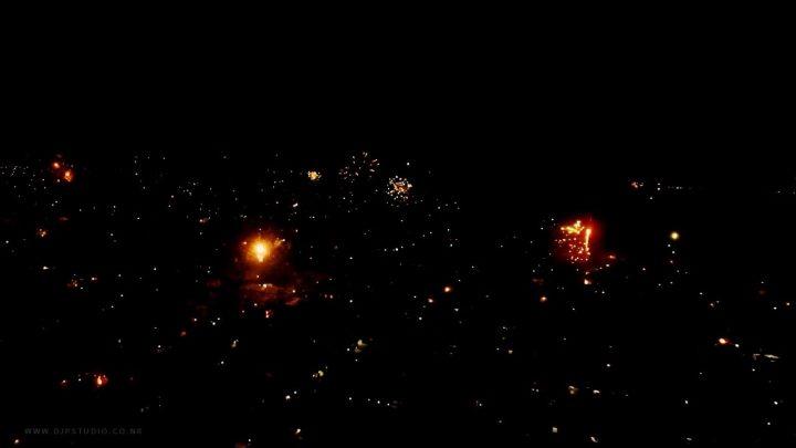 New Year Celebration Mauritius Island
