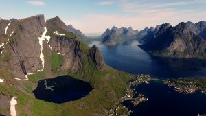 Norway and Sweden Road Trip Drone Video