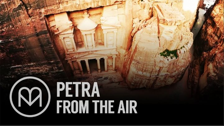 Petra From The Air by Matador Network 🇺🇸