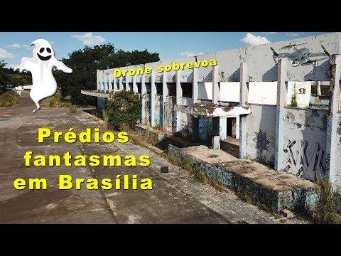 Prédios fantasmas em Brasília