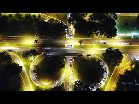 Time Lapse by drone – Asa Sul Entrequadra