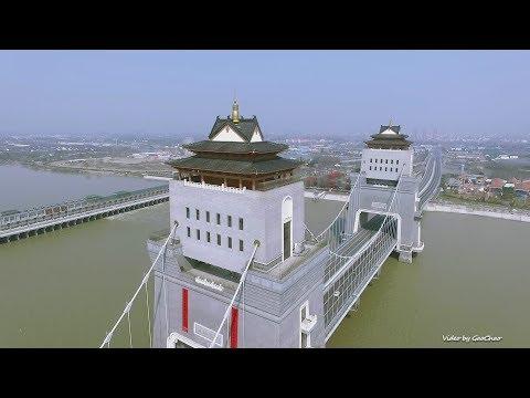 Wanfu Bridge Drone View