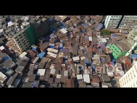 Dharavi Mumbai the largest slum in Asia