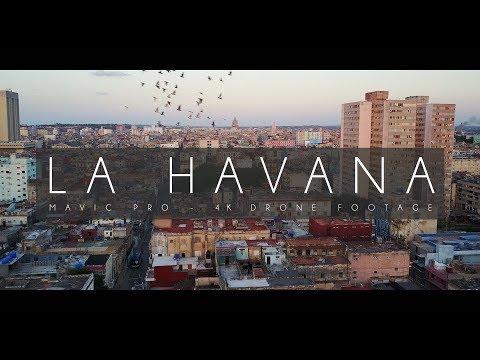 La Havana Drone Footage