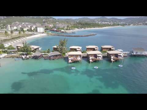 Beach StLucian Travel Grande • Sandals With Resort Drone Spaamp; uKcTJF3l1