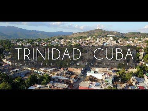 Trinidad Cuba 4K Drone View