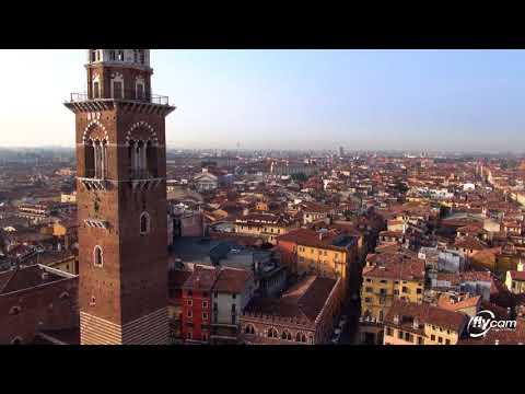 Riprese aeree di Verona