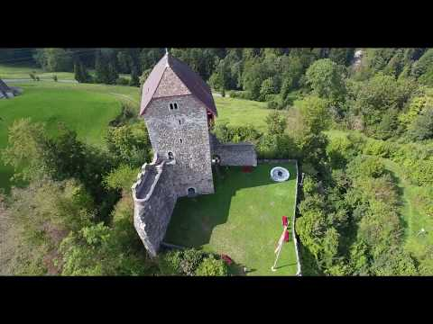 Swiss Castle Burg Iberg
