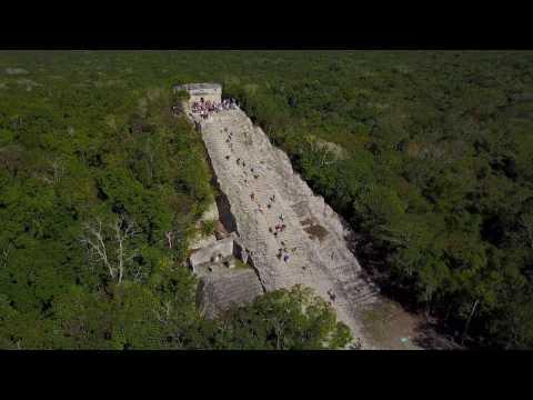 Nohoch Mul Pyramid Coba