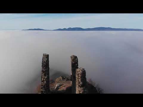 Аневска Крепост в мъглата