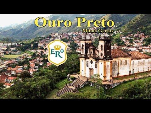 Cidade de Ouro Preto em Minas Gerais