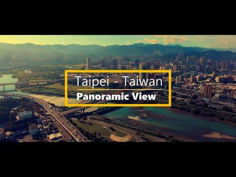 Panoramic View of Taipei