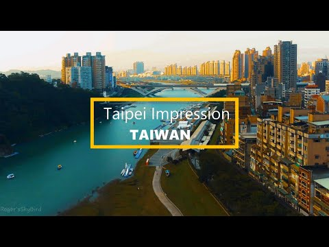 Taipei Impression by Drone