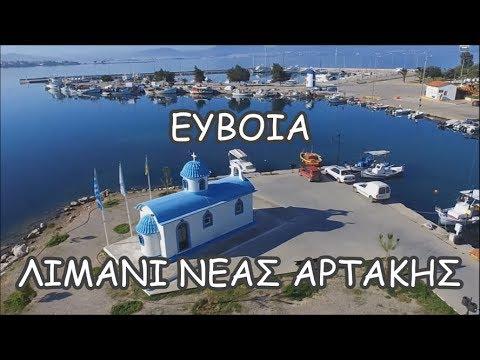 The Port of Nea Artaki