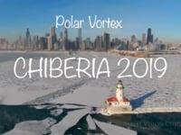 Polar Vortex 2019 Chicago Aerial Views
