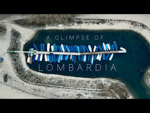 An Aerial Glimpse Of Lombardy
