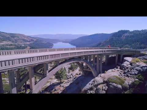 Donner Summit Bridge 4K