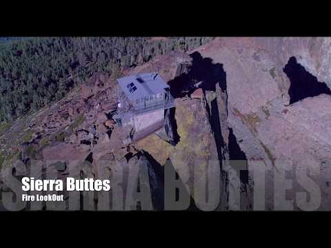 Sierra Buttes Fire Lookout 4K