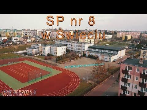 SP nr 8 Świeciu z drona