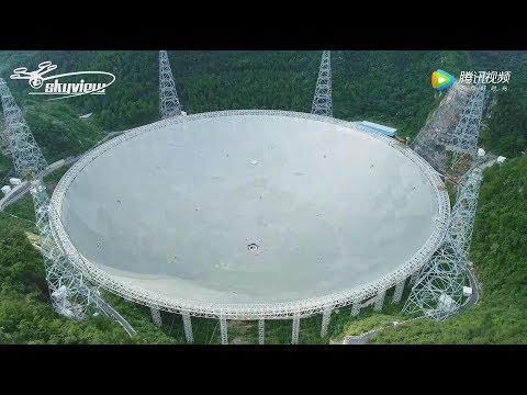 Five hundred meter Aperture Spherical Telescope