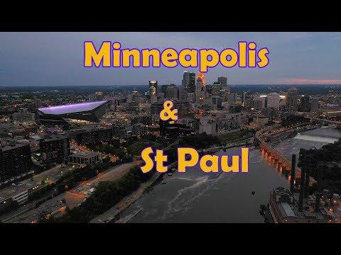 Tour of Minneapolis & St Paul Minnesota