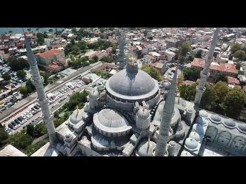 Istanbul 4K Blue Mosque and Aya Sofya