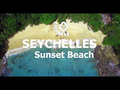 Mahe Sunset Beach Seychelles