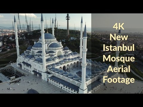 New Istanbul Mosque Camlica