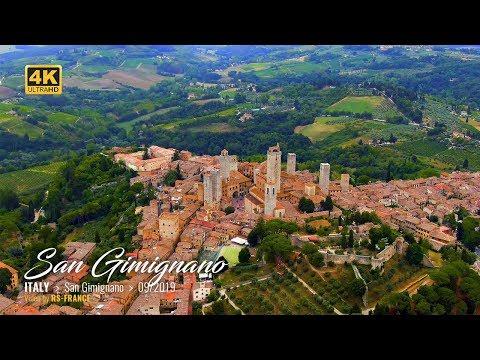 San Gimignano Riprese Aeree con Droni