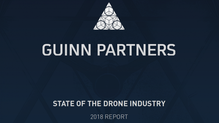STATE OF THE DRONE INDUSTRY 2018 REPORT