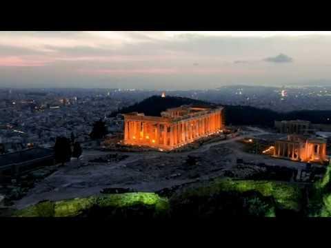 Ακρόπολη Αθηνών Αεροφωτογράφηση