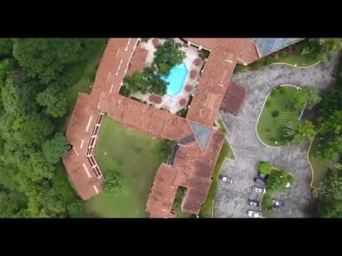 Hotel Clarion Copan Ruinas Aerial Video