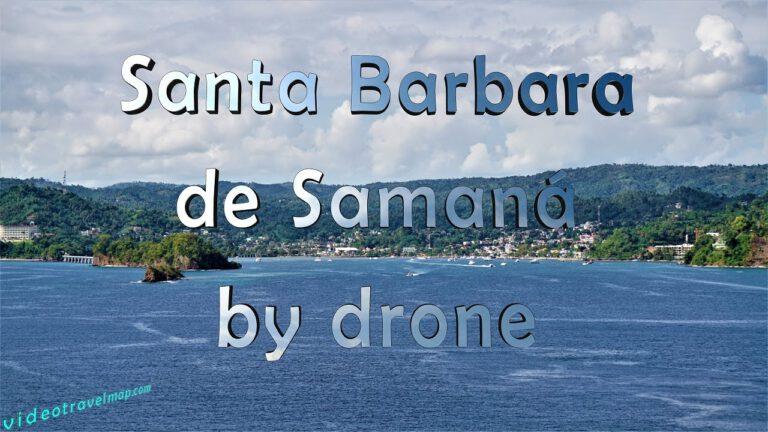 Santa Barbara de Samana Aerial View