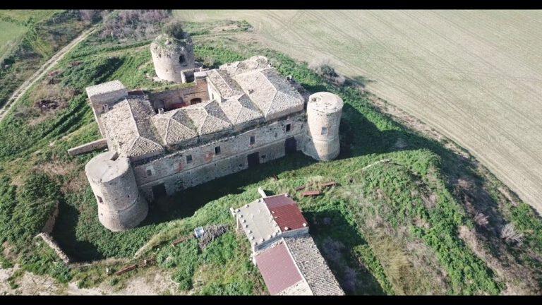 Castel Dragonara viaggiare con drone