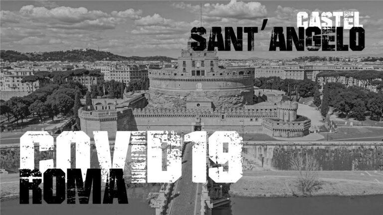 Castel Sant Angelo Roma viaggiare con drone