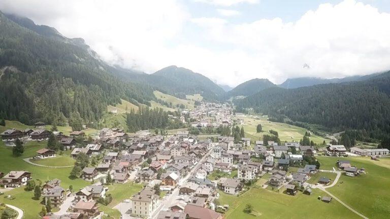 Sappada viaggiare con drone