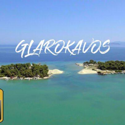 Glarokavos beach 4K Παραλία Γλαρόκαβου