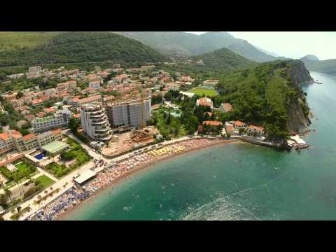 Montenegro Petrovac Air Video